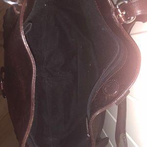 Dkny Bags - DKNY dark brown (satchel) purse.